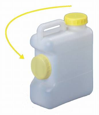 Weithalskanister 10 Liter mit Deckeldepot Trink Wasser Camping Wohnmobil