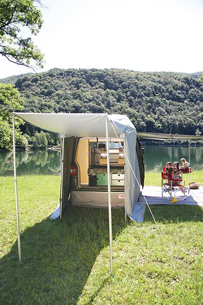 Camping Windblende Fiamma Rear Skirting Vw T5