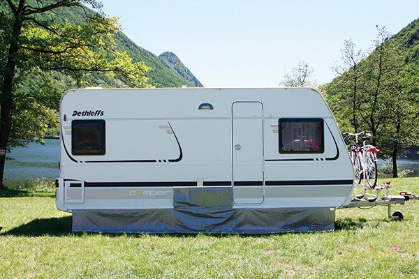 Camping Windblende Fiamma Skirting Caravan